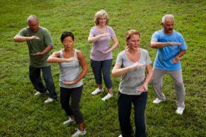 practice Tai Chi